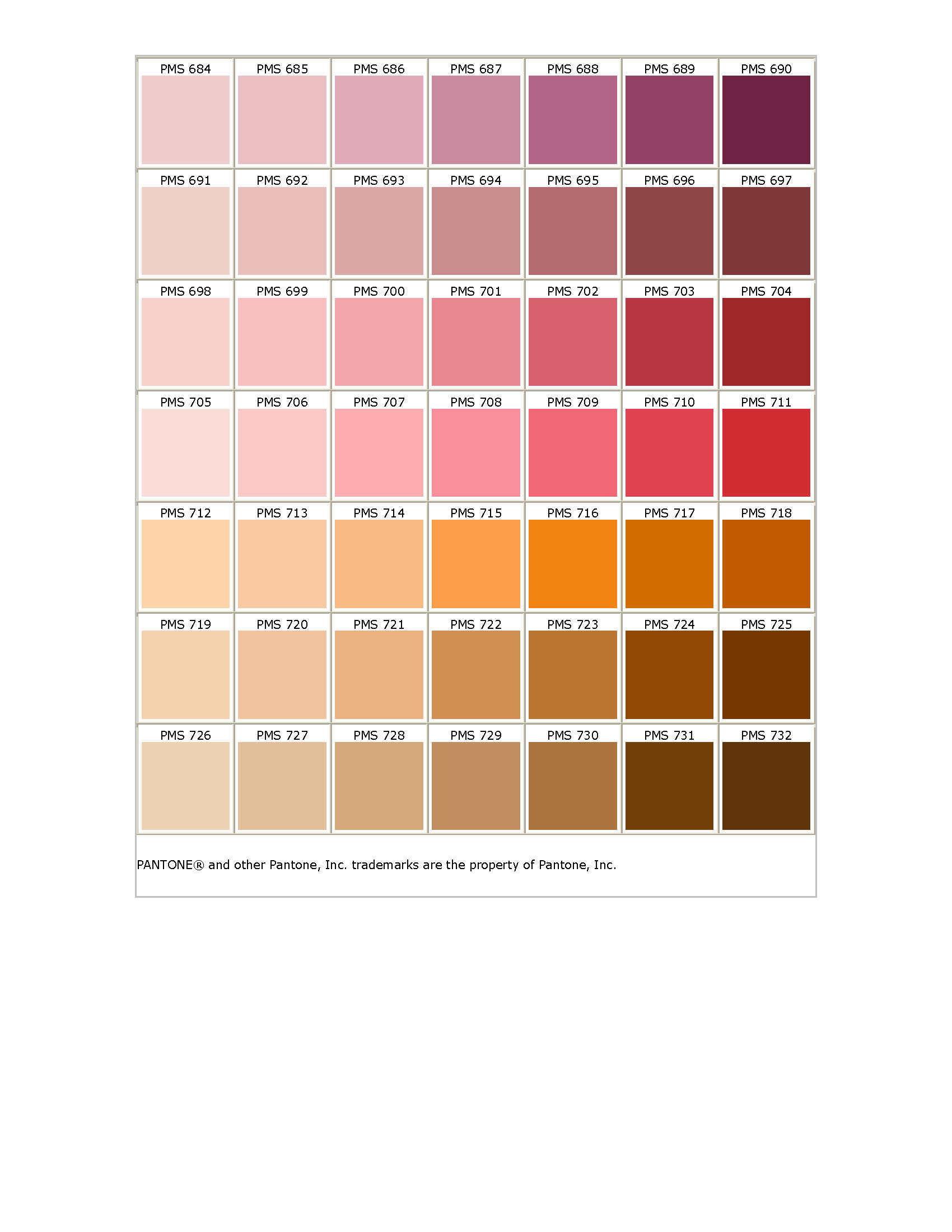 Pantone matching system the nvjuhfo Gallery
